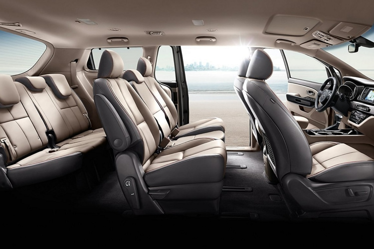 2021 Kia Sedona Interior 8-Passenger Seating