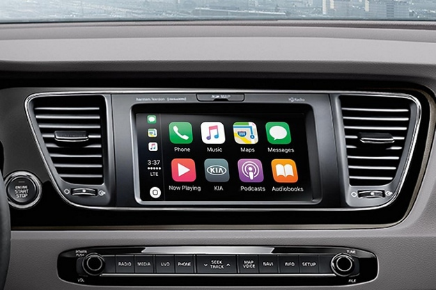 2021 Kia Sedona Interior Apple CarPlay