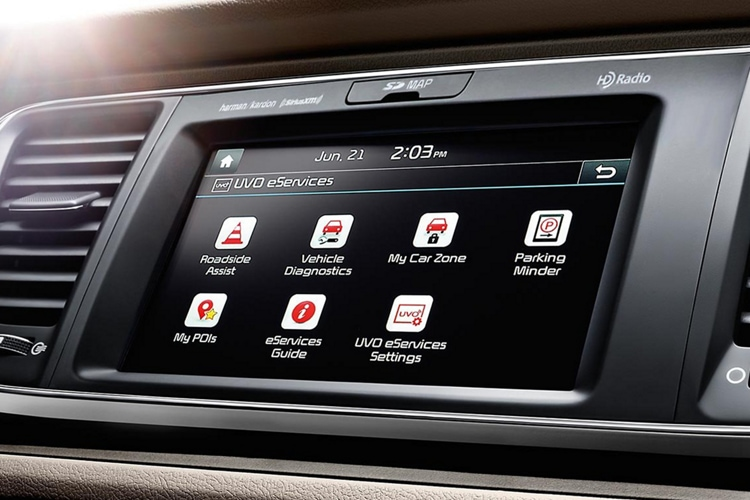 2021 Kia Sedona UVO Connectivity