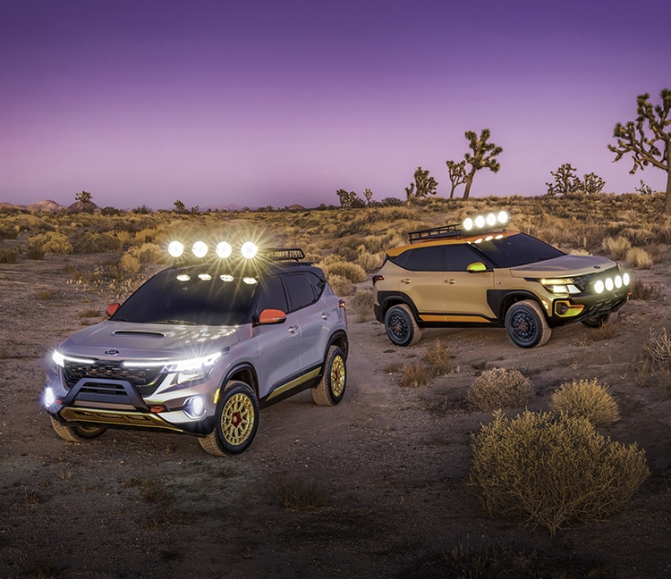 2021 Kia Seltos X-Line Concept Vehicles: Trail Attack And Urban Editions