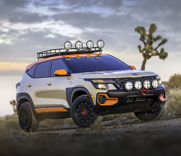 2021 Kia Seltos X-Line Trail Attack Concept Vehicle
