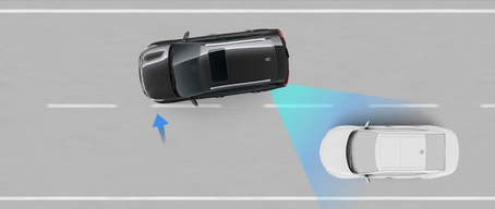 2021 Kia Seltos Blind-Spot Collision Avoidance Assist-Rear