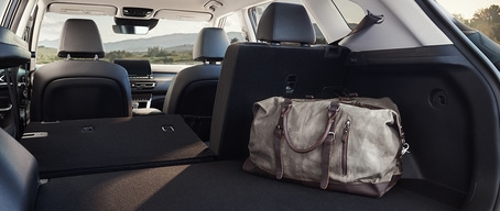 2021 Kia Seltos Split-Fold Seats For Extra Cargo Space