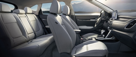 2021 Kia Seltos Ergonomically Designed Upscale Interior