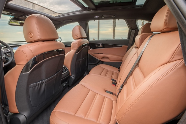 Nappa leather in the 2019 Kia Sorento mid-size SUV