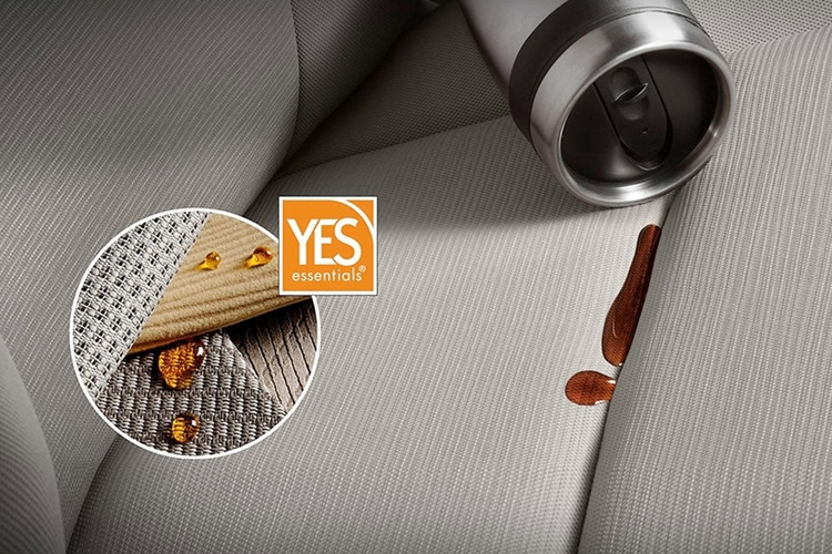 YES Essentials stain resist fabric in the Kia Sorento