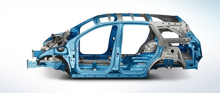 High strength steel structure of the 2019 Kia Sorento