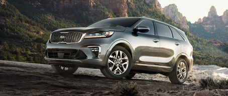 EBD, HAC, ESC features in the 2019 Kia Sorento SUV