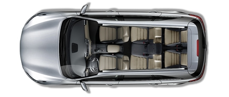 7 passenger seating in the 2019 Kia Sorento SUV