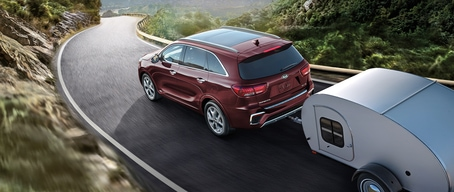 2020 Kia Sorento Towing Capacity Up To 5,000 Lbs.