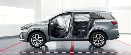 2020 Kia Sorento Child Safety System And Airbags