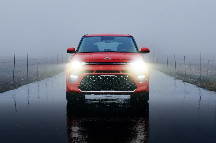 2021 Kia Soul LED Headlights Front