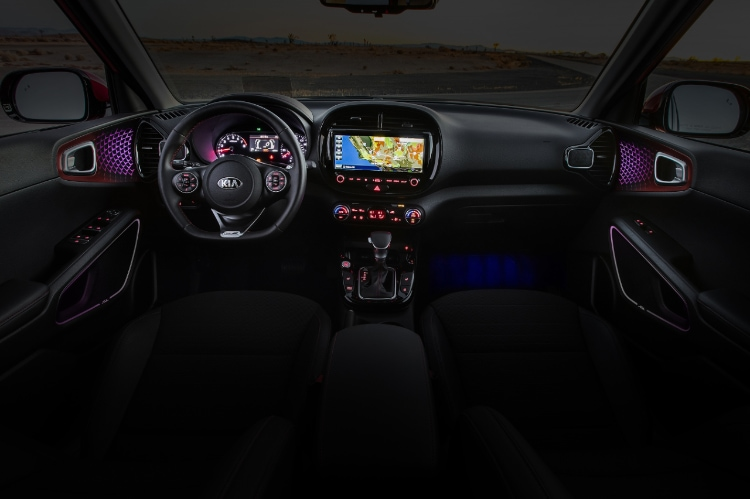 2021 Kia Soul Interior Lighting