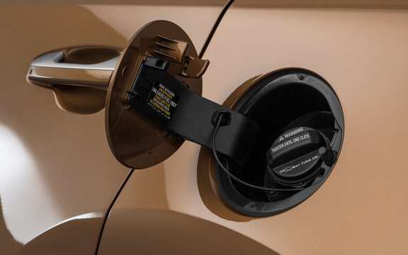 Locking fuel-filler door on the 2019 Kia Sportage