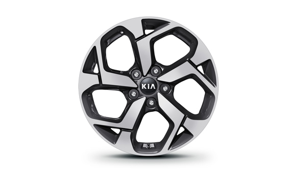 "17"" Alloy Wheels option on the 2019 Kia Sportage"