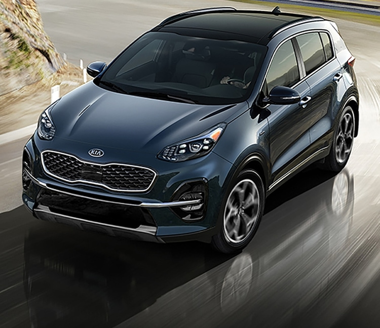 2021 Kia Sportage Turning With Precise Handling