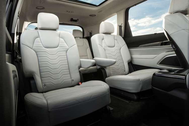 2020 Kia Telluride Back Seats