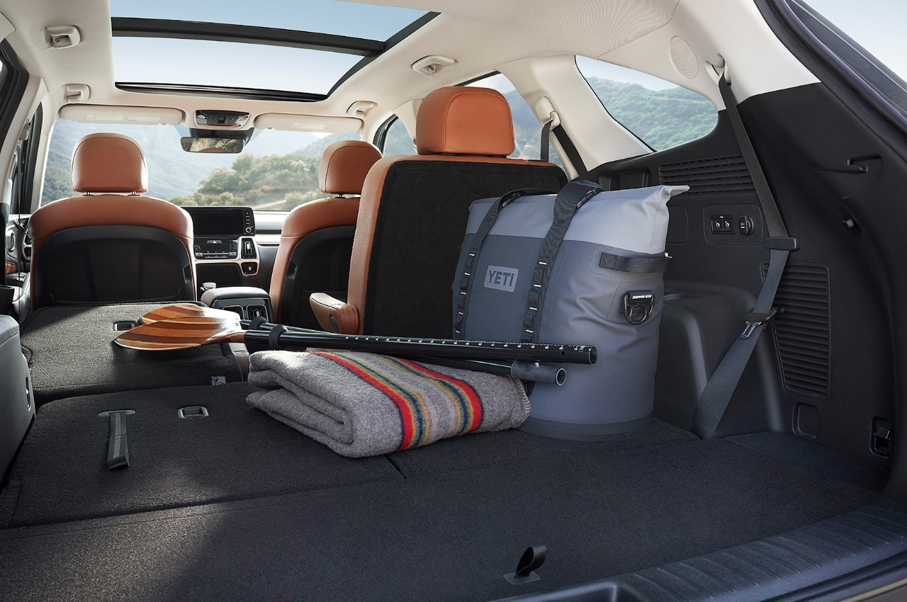 2021 Kia Sorento Interior Split-Folding Third-Row Seats